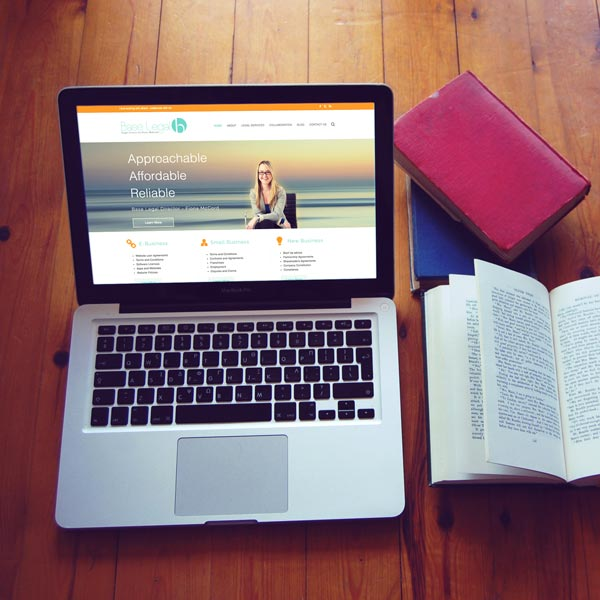 Legal practice website design