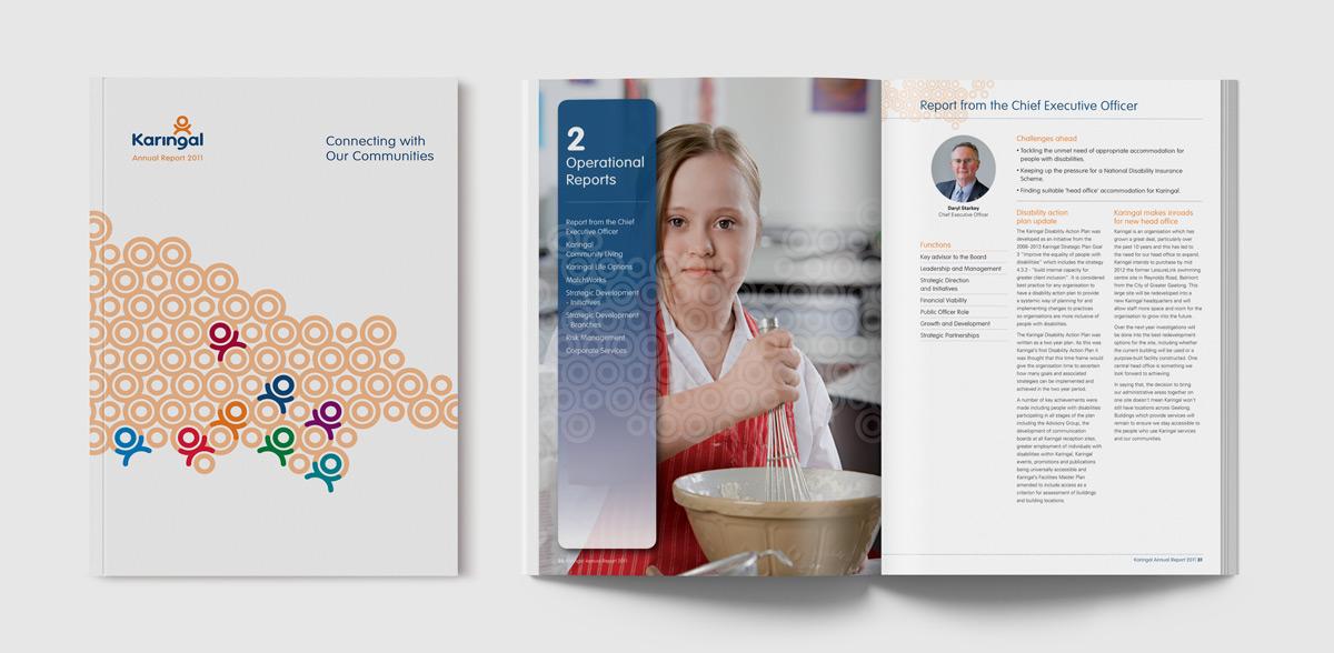 Karingal-AR2011 Publication design